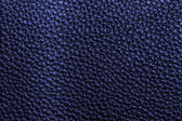 Texture cuir bleu — Photo