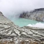 Kawah ijen volcano, Indonesia — Stock Photo #17969585