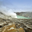 Kawah ijen volcano, Indonesia — Stock Photo