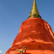 Golden Mount (wat sraket) in Bangkok, Thailand — Stock Photo