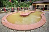 Natural spa in sulfur bath — Stock Photo