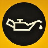 Check Fuel Symbol — Stock Photo
