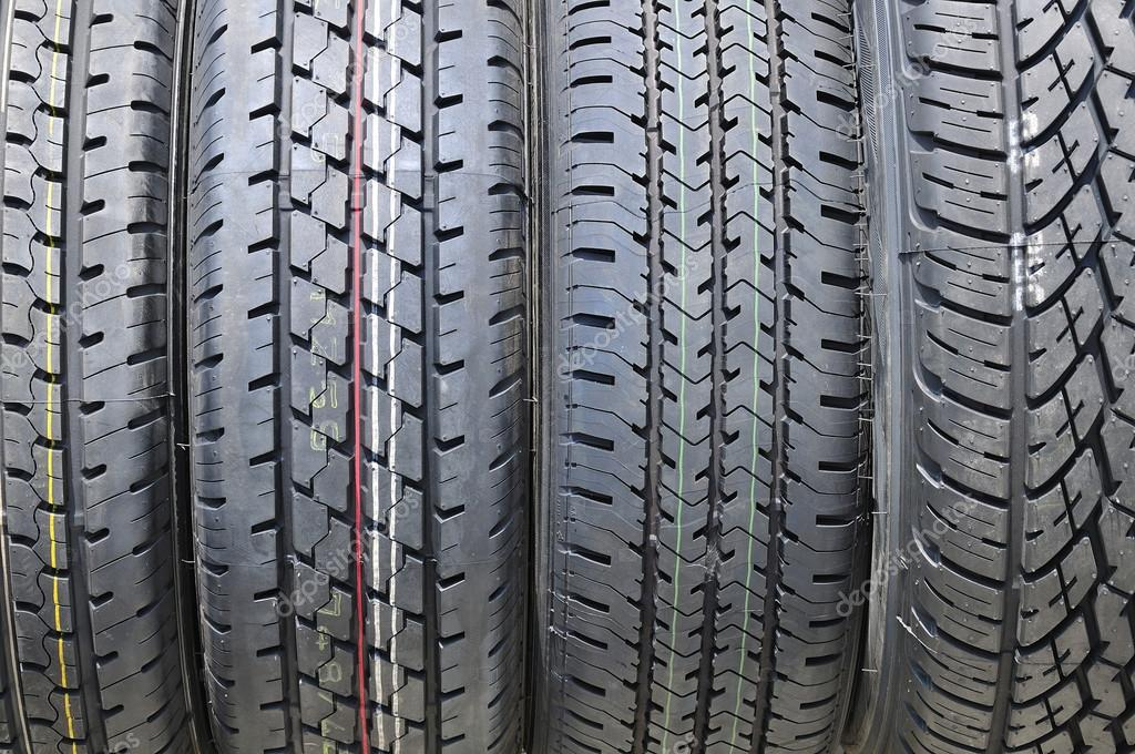 Car tire — Stock Photo #18020169