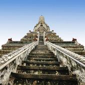 Wat Arun Temple , Bangkok Thailand — Stock Photo