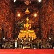 Buddhstatue in temple, Thailand — Stock Photo #32410665
