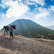 Horsemat Mount Bromo — Stock Photo #32419471