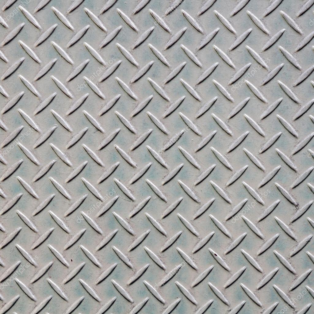 Steel Floor Pattern Background Stock Photo