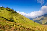 Sabana en el monte bromo volcanes bromo tengger semeru — Foto de Stock