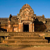 Phanom Rung castle historical park — Stock Photo