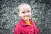 An Unidentified Tibetan lama — Stock Photo