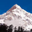 Snow mountain with blue sky at Sikkim , India — Stock Photo