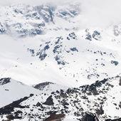 Snow mountain at Sikkim , India — Stock Photo