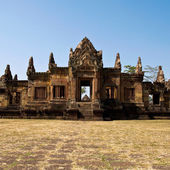 Maung Tam Castle historical park,Ancient temple and monument in — Stock Photo