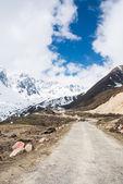 Chopta долина в северной сикким индии — Стоковое фото