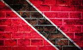 Colección de la bandera de américa del sur en textura de pared de ladrillo antiguo — Foto de Stock