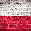 Collection of europeflag on old brick wall texture background — Foto Stock #36448827
