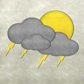 Wetter plastilin-handwerk-stick am plastilin-textur-hintergrund — Stockfoto