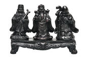 Three chinese gods statue — Foto de Stock