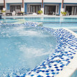 Swimming pool at hotel — Stock Photo #36885525