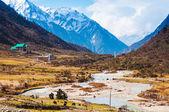 Chopta Valley in north Sikkim India — Stock Photo