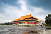 Taipei Chiang Kai Shek memorial hall — Stock Photo