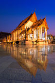 Wat Suthat Thep Wararam temple in Bangkok Thailand  — Stock Photo