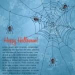 fond grungy de halloween — Vecteur