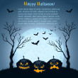 Halloween background - Stock vektor