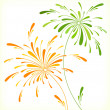 Festive firework in honor of holiday - Stock Vector