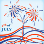 Festive firework — Stock Vector #13183445