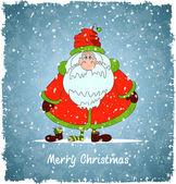 快乐圣诞老人 — 图库矢量图片
