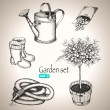 Garden set. — Stock Vector #31747319