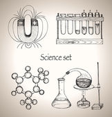 Science set. — Stock Vector