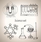Science set. — Stock Vector
