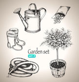 Garden set. — Stock Vector