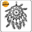 Stock Photo: AmericIndidreamcatcher of shaman