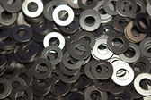 Bolts, screws, nuts, washers — Stock Photo