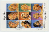 ST. VINCENT - CIRCA 1994: a postage stamp printed in St. Vincent — Stock Photo