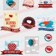 Valentine's holiday — Stock Vector