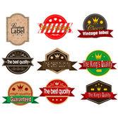Vintage logos — Stock Vector