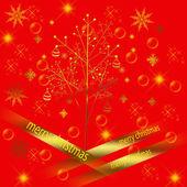Resumen antecedentes con motivo de la navidad — Foto de Stock