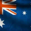 Australia flag. - Stock Photo