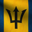 Barbados flag. — Stock Video #13540978