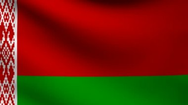 Belarus flag. — Stock Video