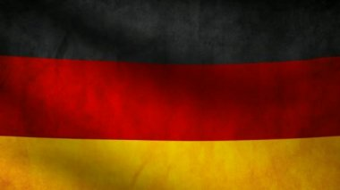 Germany flag. — Vídeo de stock