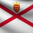 Stock Video: Jersey flag.