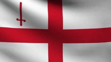 London flag. — Stock Video