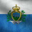 San Marino flag. — Stock Video