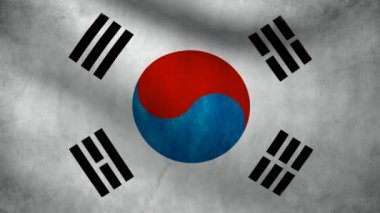 South Korea flag.
