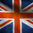 United Kingdom flag. - Stock Photo